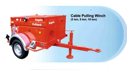 CABLE PULLING WINCH