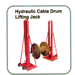 HYDRAULIC CABLE DRUM LIFTING JACK