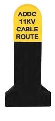 Concrete Route Marker In Oman