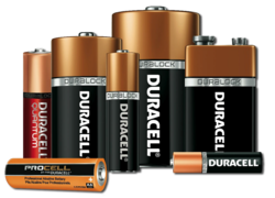 DURACELL Alkaline Battery AA AAA Csize Dsize