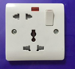 UK 5 Pin Switched Socket Multifunctional Switches