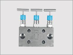Three Valve Manifold Bar Type Direct Mount