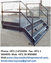 Steel Fabricators In Abudhabi, Musaffah from Clear Way Building
