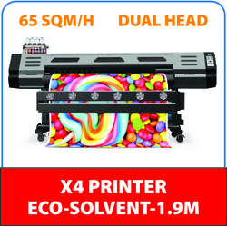 XENONS X4 ECO- SOLVENT PRINTER 1.9MTR DUAL HEAD