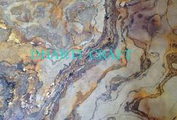 Flexible Slate stone veneer laminates Translucent Fabric
