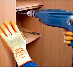 Hand Gloves Latex Coated