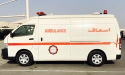 Ambulance Toyota Hiace High Roof Diesel