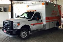 Ambulance Ford F350