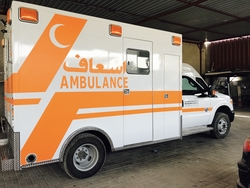 Ambulance Ford Super Duty F350