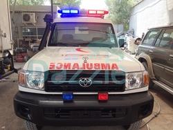 Ambulance Toyota Land Cruiser GRJ 78 Petrol Engine