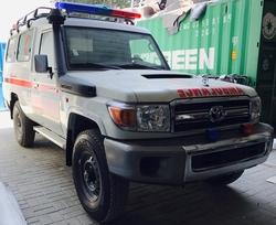 Toyota Land Cruiser Hard Top VDJ78L-RJMRYV-1D-HD2 Ambulance