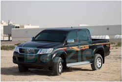 B6 ARMORED TOYOTA HILUX DOUBLE CABIN