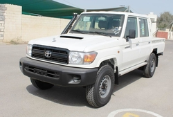 New Cars Toyota Land Cruiser Double Cabin Pick up VDJ 78L