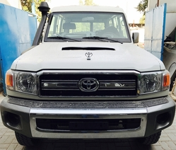 New Cars Toyota Land Cruiser VDJ78 Hardtop