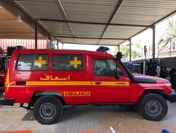 Brand new Ambulance Toyota