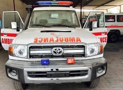 Toyota Land Cruiser Hardtop VDJ78 Ambulance