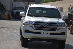 Toyota Land Cruiser GXR Armored
