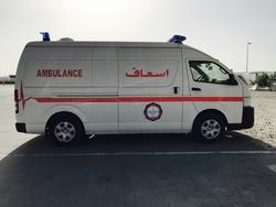 Toyota Hiace Diesel Ambulance