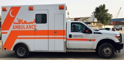 Emergency Ambulance Ford
