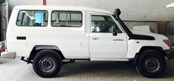 Brand new Toyota Land Cruiaer Hardtop