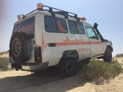 Brand New Ambulance Toyota Land Ceuiser