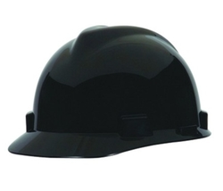 MSA V-Gard Hard Hat Ratchet Suspension - Black