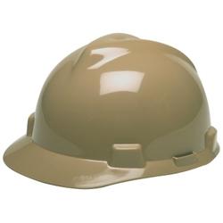 MSA V-Gard Hard Hat - Tan