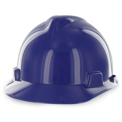 MSA V Gard Hard Hat - Purple
