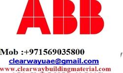 ABB PRODUCTS DEALER IN MUSAFFAH , ABUDHABI ,UAE