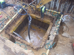 TEMPORARY DEWATERING WORKS