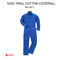 Twill Cotton Coverall in Dubai