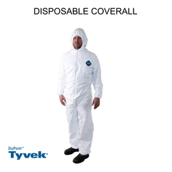 DuPont TYVEK Disposable Coverall in dubai