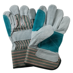 Double Palm Leather Gloves in Dubai