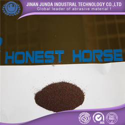 Garnet sand 3060mesh for sandblasting oil and gas pipelines
