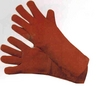 RED WELDING GLOVES