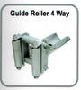 GUIDE ROLLER 4 WAY