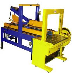 Fully Automatic Strapping Machine/Carton Sealer from PHOENIX DISONTEC L.L.C.