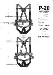 Full Body Safety Harness from FORLAND TRADING LLC.
