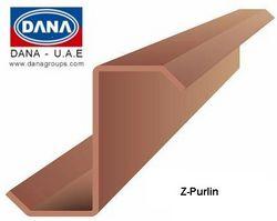 DANA COLD FORMED STRUCTURAL Z PURLIN  from DANA GROUP UAE-OMAN-SAUDI [WWW.DANAGROUPS.COM]