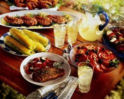 Outdoor Party Catering from TIME FOOD CATERING