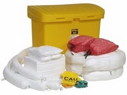 OIL SPILL KIT 125 GALLON SPKO-CART5 from GSET LLC