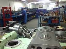 Overhauling of all Hydraulic Pumps, Motors, Valves from POWER HYDRAULICS
