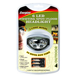 ENERGIZER HEADLIGHT 6LED
