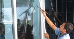 External Glass Cleaning from SKY STAR BUILDING SERVICES.L.L.C.