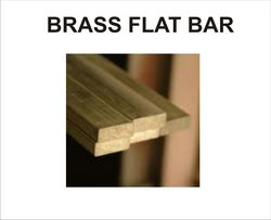 BRASS FLAT BAR from METAL AIDS INDIA