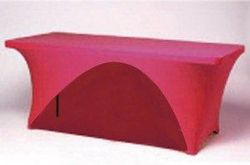 Spandex Cocktail Table Covers from KOLVIN HOTEL EQUIPMENT & SUPPLY TRADING LLC