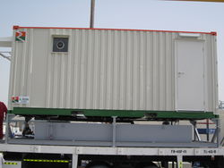 Ablution container hire