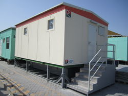 Ablution cabin for hire in UAE. from RTS CONSTRUCTION EQUIPMENT RENTAL L.L.C
