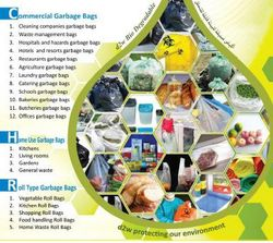 Commercial Garbage Bags UAE from GULF CENTER FOR CLEANING EQUIPMENTS