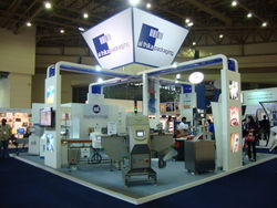 Exhibition Stand Trade show booth from ASIATIC EXPO MEDIA FZ LLC